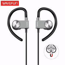 Wavefun X-Buds Metal 4.1 bluetooth earphones sport wireless headphones headset IPX4 magnetic earbuds mic for phone iPhone xiaomi(China)