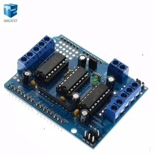 1PCS Motor Drive Shield L293D for Arduino Duemilanove Mega / UNO, Free Shipping , Dropshipping