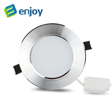 Silver high power led downlights 5730SMD 10W 15W 20W 110V 220V 230V 240V led lamp led light(China)