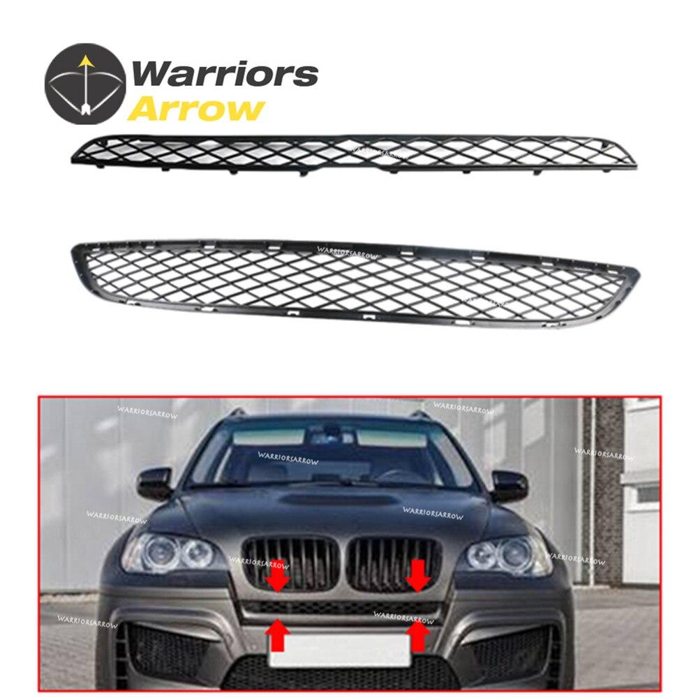 GRIGLIA PARAURTI ANTERIORE SINISTRA PER BMW X6 E71 08/> M-SPORT