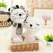 Cute Lion Plush Dolls Lovely Cat Toys Soft Stuffed Toys