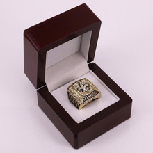 US Size 8 to 14! 2017 hot sale 2009 New Orleans Saints Super Bowl 44 world championship rings replica BREES drop shipping(China)
