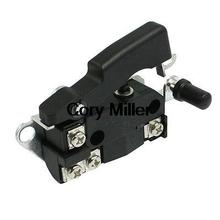 Electric Pick Gun Part SPST NO Momentary Switch AC 250V 12A for Makita HM0810