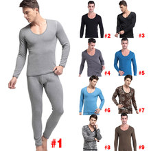 Warm Men's Underwear Thermal Nightwear Gentleman Thickening Velvet Suit Comfortable Household Wear Brand Pajamas LB