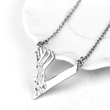 Punk Style Boutique Silver Plated Vikings Season Women And Men Chain Necklace Hollow Design Chain Necklace Jewelry Wholesale(China)