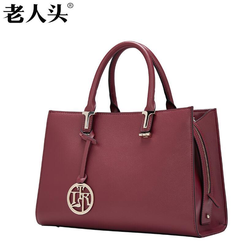 LAORENTOU New luxury handbag women bag designer Superior genuine leather bag fashion Simple wild Tote bag women leather Handbags<br><br>Aliexpress