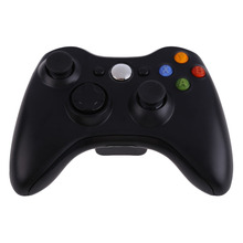 2.4GHz New Black Gamepad Remote Controller Wireless Controller For Microsoft Xbox 360 Console Game Controller(China)