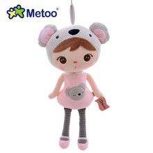 New Arrival Original Metoo Lucky Dolls Pink Koala Plush Kids Baby Dolls Toy 16'' Brand New Free Shipping #LN(China)