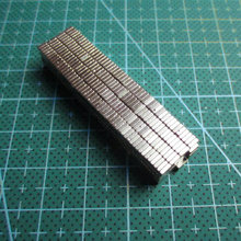 50pcs  3*2*1 N45 magnet Wholesales Strong Block Cube Magnets 3mm x 2mm x 1mm Rare Earth Neodymium magnets 3x2x1