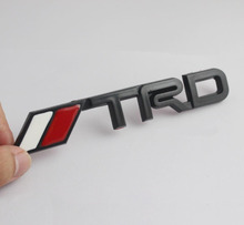 ABS Plastic 3D TRD Logo Emblem Sticker Decal Badge Trunk Fit For Toyota Models NEW Corolla Camry RAV4 ect