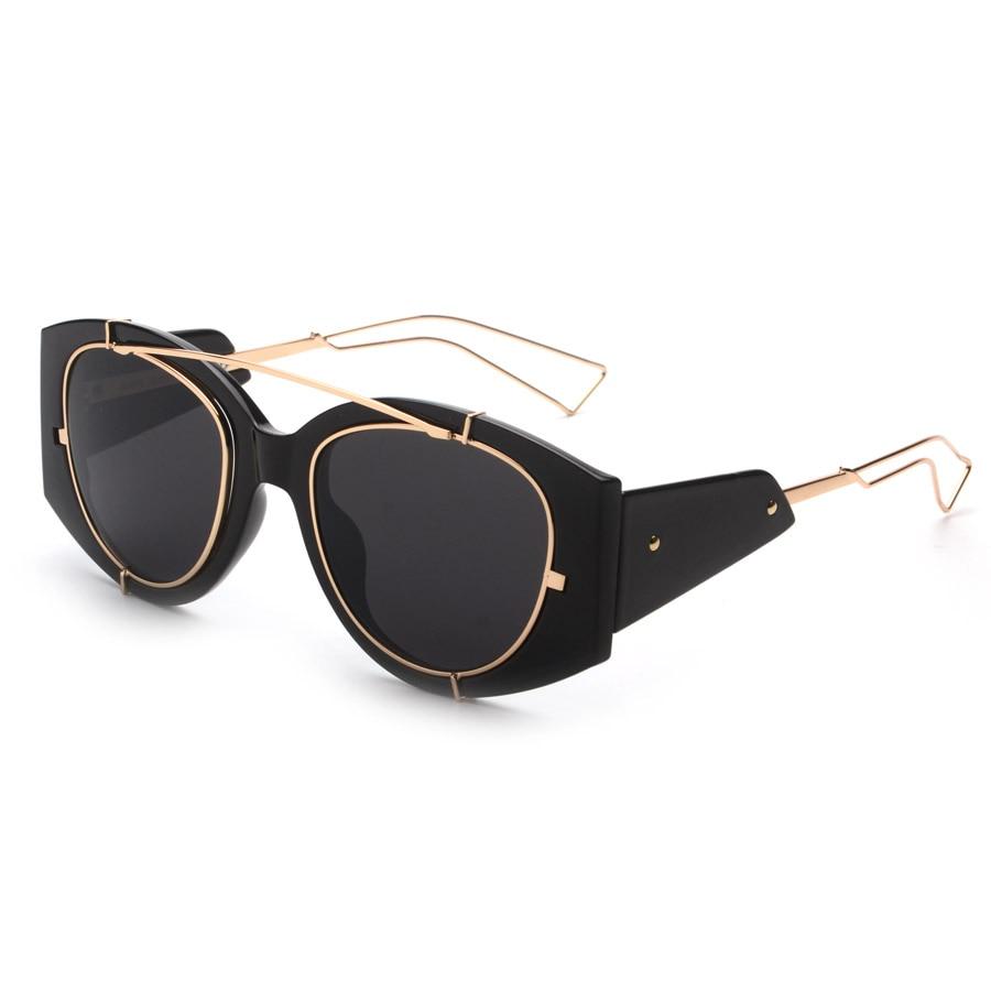 2016 Limited Edition Sunglasses Steampunk Fashion Eyewear Vintage Retro Sun Glasses Women Men Brand Designer UV400 oculos de sol<br><br>Aliexpress