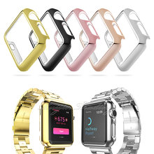 2017 Five Color Frames For Apple Watch 38mm/42mm Skin Thin Smart Aluminum Protective Case For Apple Watch 38mm/42mm Replacement