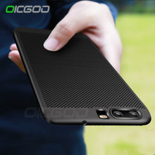 OICGOO Heat Dissipation Case For Huawei P9 P10 Lite Honeycomb Cover Cooling Full Cover For Huawei P10 P10 Plus Phone Case Cape