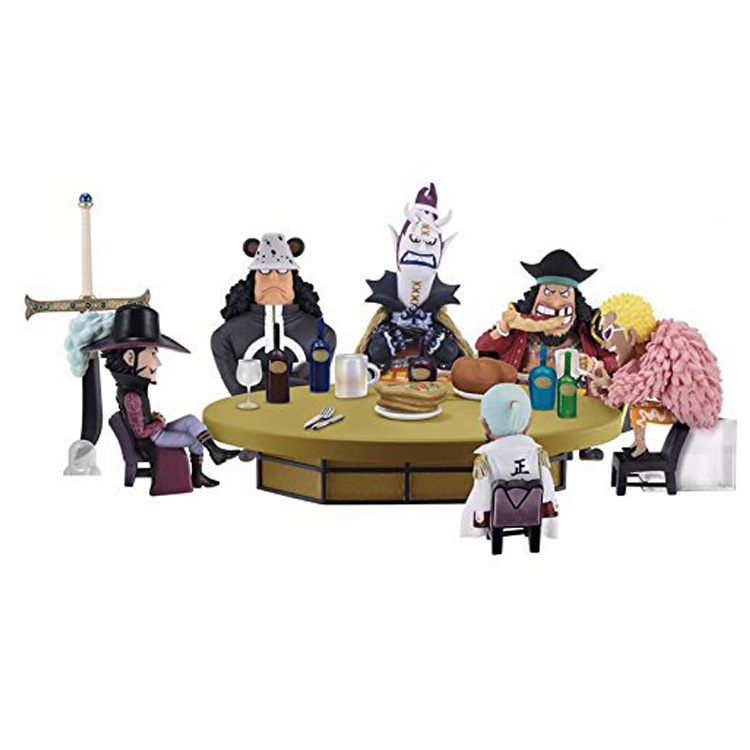 Free Shipping Cute One Piece Anime Set Shichibukai Ichiban Kuji Prize D Boxed PVC Action Figure Collection Model Doll Toy Gift<br>