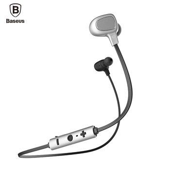 De baseus b15 auriculares bluetooth auriculares 4.1 auriculares estéreo de auriculares con micrófono para iphone xiaomi teléfono android