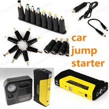 Car jump starter car power bank with pump High Quality 12 V  protable auto Car Jump Starter 50800 mAh Power Bank free shipping