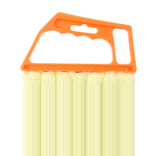 Microfibre Venetian Blind Brush Window Air Conditioner Duster Dirt Clean Cleaner (Orange)(China)