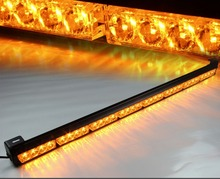 "CYAN SOIL BAY 32 LED 35"" 36"" Emergency Traffic Hazard Flash Strobe Light Bar Amber Yellow(China)"
