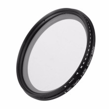 ND Filter Fader Neutral Density Adjustable ND2 to ND400 Variable Filter 52mm 55mm 58mm 62mm 67mm 77mm for Canon for Nikon Camera(China)