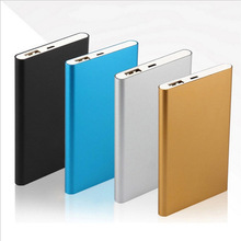 Metal Slim Power Bank 8000mAh USB External Backup Battery Portable Charger PowerBank For Universal SmartPhone