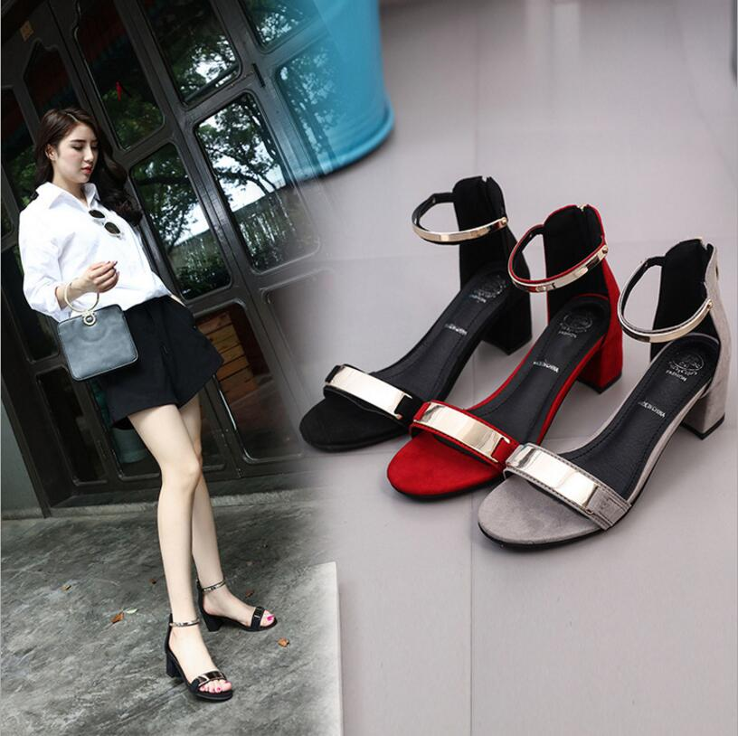 Summer Women Sandals Open Toe Flip Flops Womens Sandles Thick Heel Women Shoes Korean Style Gladiator Shoes Platform Wedge Shoe<br><br>Aliexpress
