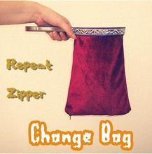 Repeat Zipper Change Bag (Medium)- Magic Tricks,Stage,Close Up,Accessories,Gimmick,Illusion,Comedy,For Kids(China)