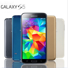 Hot Sale Smartphone Original Unlocked Samsung Galaxy S5 i9600 Quad-core 3G&4G 16MP Camera GPS WIFI CellPhone