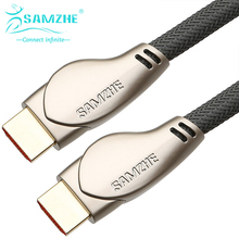 SAMZHE 4K*2K HDMI2.0 Cable Gold-plated 1080P HDMI2.0 Cable 3D HDMI2.0 Cable for Media Player HDTV 4K 3D HDMI Cable