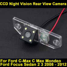 For Ford Focus Sedan 2 3 2008 2009 2010 2011 2012 C-Max C Max Mondeo CCD Night Vision Rear View Backup Reverse Parking Camera