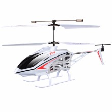 SYMA S39 2.4GHZ 3CH remote control RC helicopter with gyroscope led flashing aluminum anti-Shock toys kids gifts