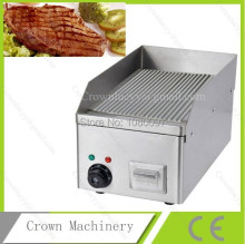 Non-stick Grooved Electric griddle grill for home use