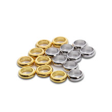 100pcs/lot Gold/Rhodium Color 5mm Spacer Jump Rings for Bracelets &Bangle Loose Beads Fit Jewelry Handmade DIY F3107