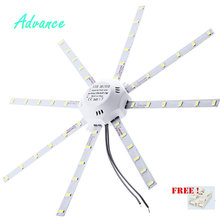 2017 New Arrival AC 220V LED Ceiling Lamp Octopus Light Energy Saving Long Life Expectancy Indoor Lighting 5730SMD 12W16W20W24W