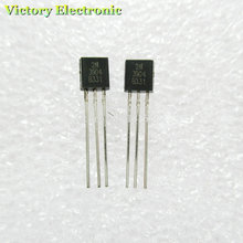 100PCS/Lot 2N3904 TO-92 0.2A 40V NPN Original New Triode
