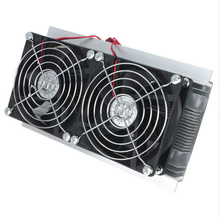 Thermoelectric Cooler Peltier Refrigeration Cooling TEC System Kits Double Fan(China)