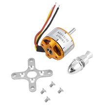 Useful 2700KV RC Outrunner Brushless Motor A 2212 5T for Airplane Aircraft Hobby 5JEI