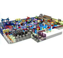 customized made soft playground and electric coin games for kids indoor castle toy factory manufacturer YLW-IN17005A
