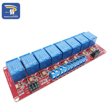 8 Channel 5V Relay Module Board Shield with Optocoupler Support High and Low Level Trigger for Arduino
