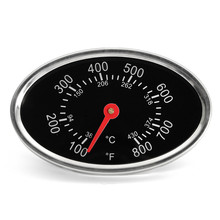 1pc 38 ~ 430 Metal Degree Centigrade Oven Thermometer Burner Gas Grill Temperature Gauge 76*48*39