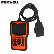 FOXWELL NT510 ABS SRS Airbag Crash Data SAS EPB Oil Service Reset Multi-function car Diagnostic tool for Nissan BMW Opel VAG