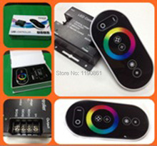 Magic dream color RGB LED Controller color wheel ring remote LED touch RF controller 24V/12V(China)