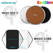 NILLKIN Magic Disk III Magic Cube qi wireless charger For samsung s6 s6 edge s7 s7 edge lumia 950 qi wireless charging Device(China)