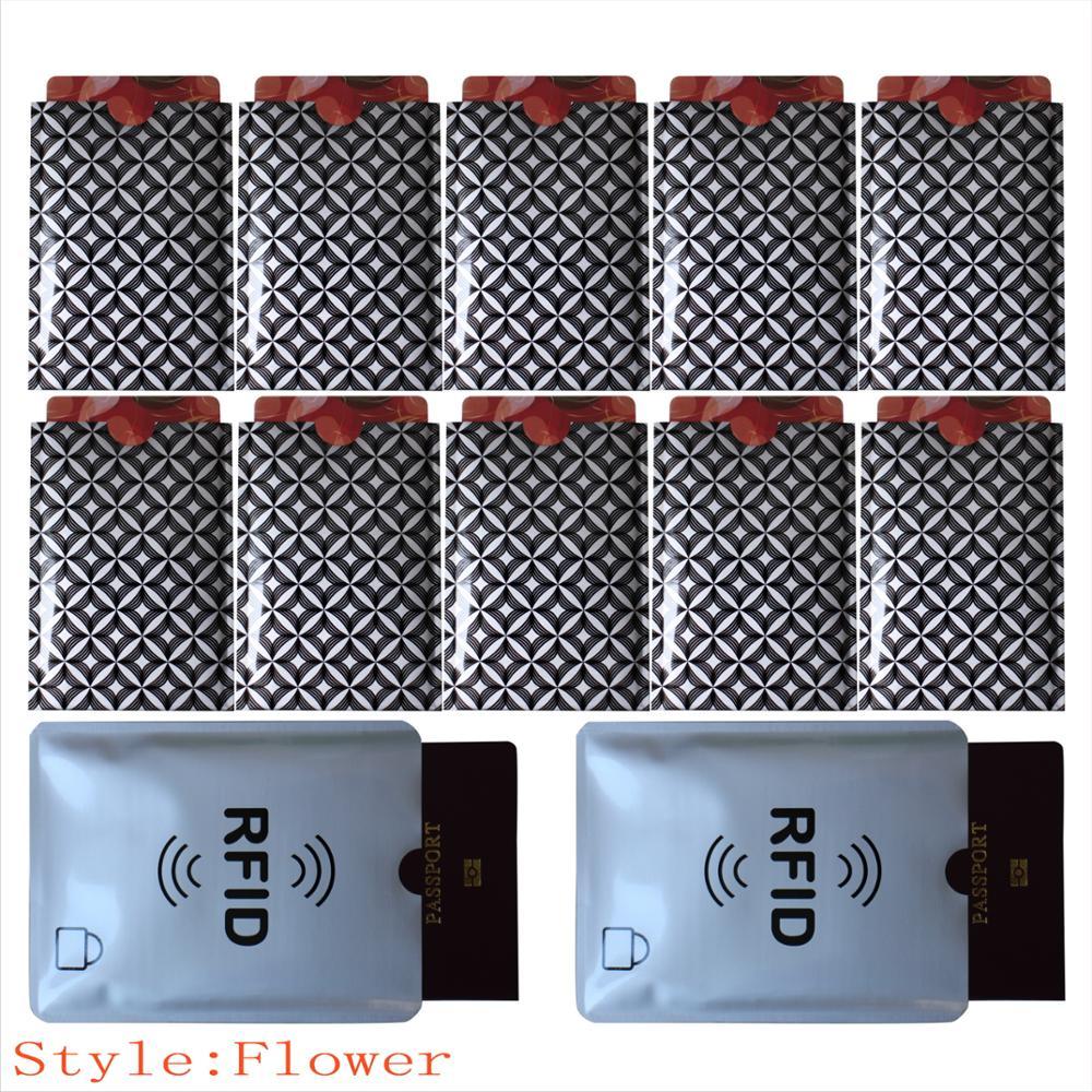 RFID SLEEVE-01-Flower