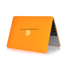 Orange Fashion Crystal Case Ultra Thin For Apple Macbook Air Pro Retina 11 12 13 15 Laptop Cover Bag For Mac book 13.3 inch