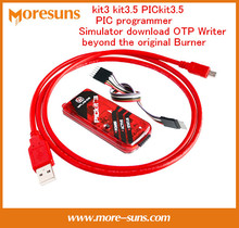 Free Shipping kit3 kit3.5 PICkit3.5 PIC programmer simulator download OTP Writer beyond the original Burner