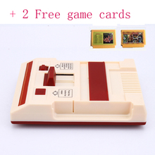 MYOHYA Hot Video Game Console To TV With 2 Gamepads Controller For 8 bit Family TV game +Free 500 in1 and 24 In1 game cards(China)