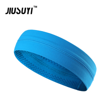 Street Dance Basketball Sweatband Sport Headband Anti-slip Hair Bands Elastic Running Yoga Hip Hop Hair Headwear Gym Women Men