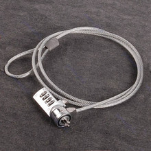 4 Digit Security Password Computer Lock Anti-theft Chain For Notebook PC Laptop Brand New High Quality Metal
