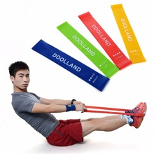 Resistance Band Set 4 Levels Available Latex Gym Strength Training Rubber Bands Fitness Equipment