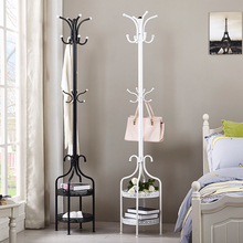 Metal coat rack hanger floor bedroom clothes hanger clothes rack simple modern indoor clothes hanger